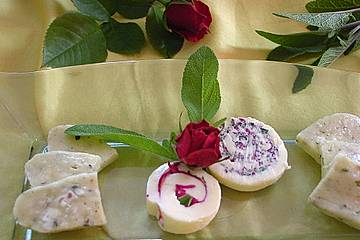 Blüten-Butter Rolle