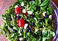 Feldsalat-mit-Blaubeeren