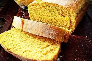 Amerikanisches Weihnachtsessen.Cornbread Amerikanisches Maisbrot