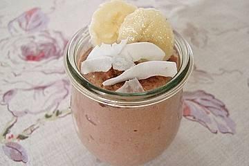 Bananen-Kokos-Porridge