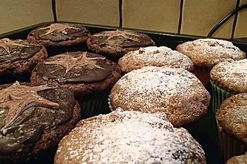 Eierlikör-Stracciatella-Muffins