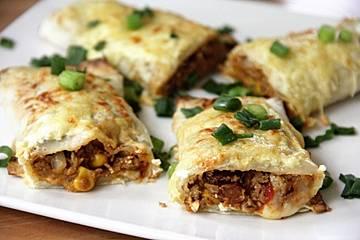 Vegetarische Chili-Burritos