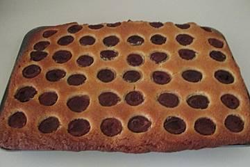 Vanille-Pflaumenkuchen