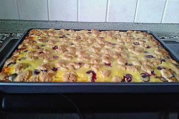 Vanille-Quark-Streuselkuchen vom Blech
