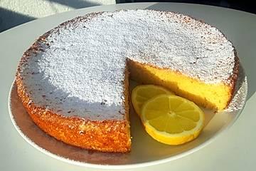 Italienischer Zitronenkuchen