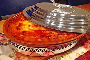 Kürbis-Lasagne low carb