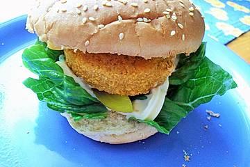 Fischfrikadellen-Burger