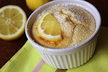 Zitronen-Quark-Soufflé