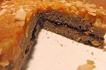 Buchweizen Hirse-Apfel Kuchen