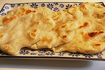 Pfannenbrot - Roti