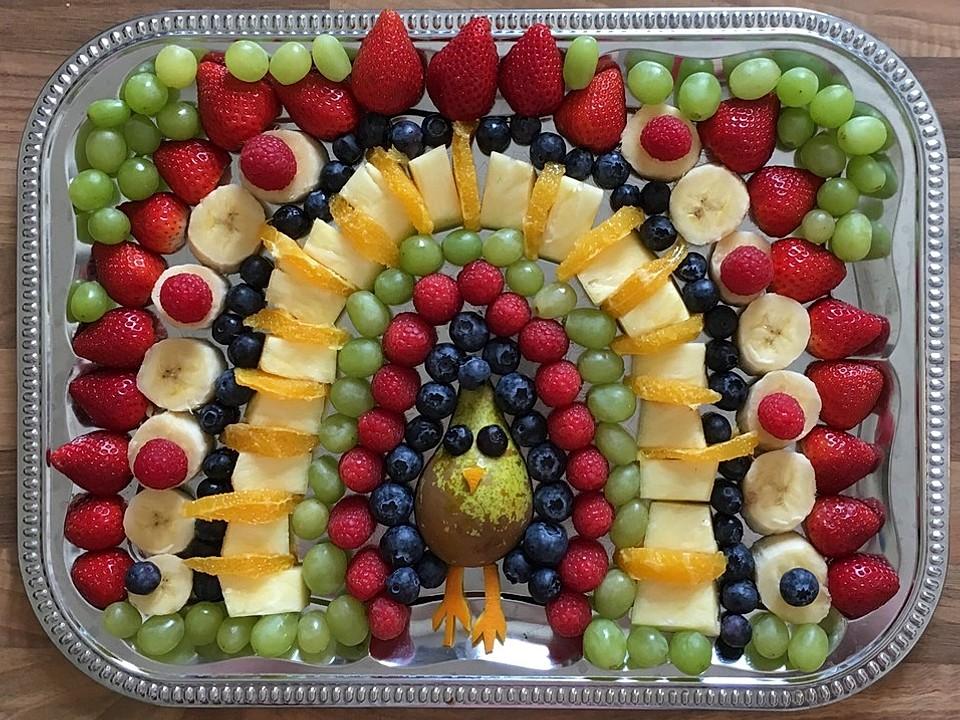 Obst Pfau Von Moosmutzel311 Chefkoch