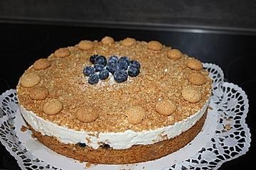 Kirsch-Mascarpone-Torte mit Amaretto