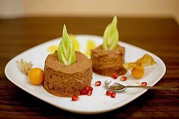 Mousse au Chocolat, hell oder dunkel