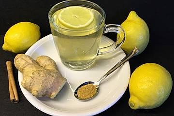 Zitronen-Zimt-Ingwer-Tee zur Gewichtsreduktion
