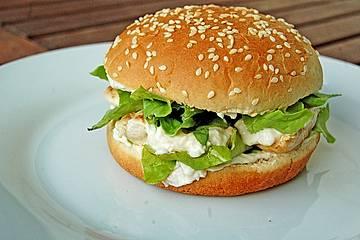 Caesar`s Salad-Chicken-Burger