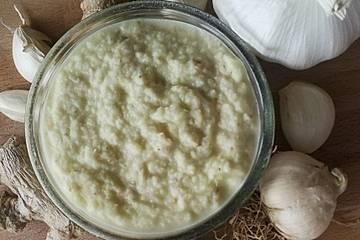 Indische Ingwer-Knoblauch-Paste