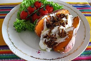 Süßkartoffel aus dem ofen