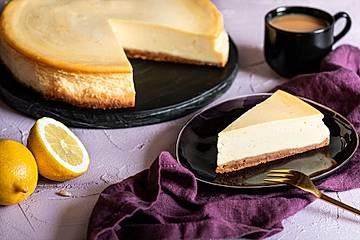 """Amerikanischer New York Cheesecake - so wie der berühmte """"Lindy's"""""""