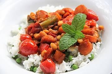 Chakalaka - südafrikanischer Gemüseeintopf