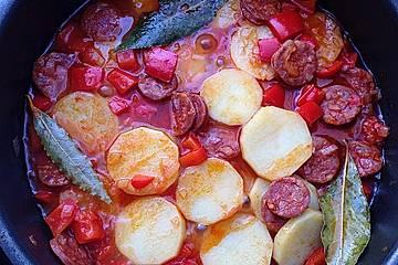 Patatas con chorizo à la Gabi