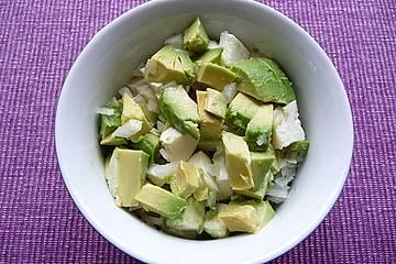 Einfacher Avocadosalat
