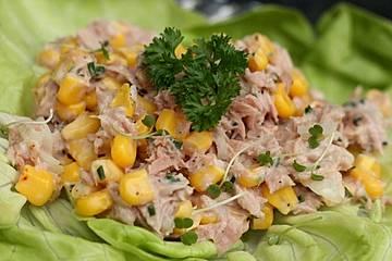 Einfacher Thunfischsalat
