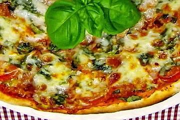 Glutenfreie Pizza Margarita