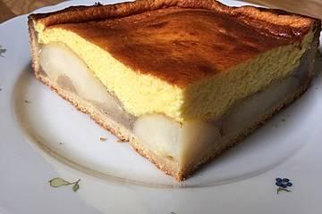 Birnen-Sektkuchen