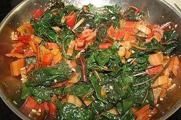 Mangold einfach wie Spinat zubereitet