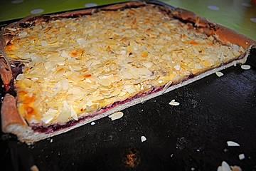 Preiselbeer-Marzipan-Kuchen