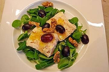 Blauschimmel-Lachs Terrinchen in Joghurt