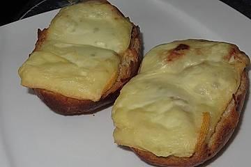 Überbackener Birnen-Toast