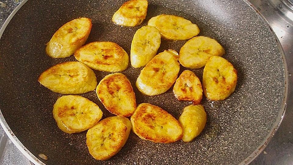 Tostones Frittierte Kochbananen Von 1sucki1 Chefkoch