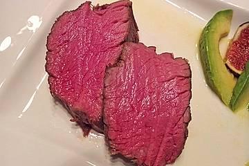 Rinderfilet im Ganzen nach Sous vide in der Cooking Chef