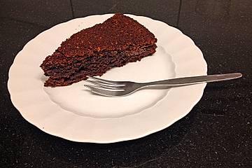Genialer Kakao-Quark Kuchen mit Nutellafüllung