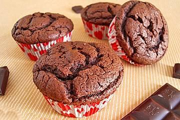 Schokoladenpudding-Muffins