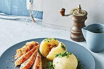 Gekochte Kartoffelknödel Spessarter Art