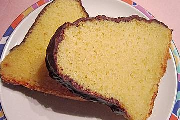 Bananeneierlikör-Kuchen (All-in-Teig)