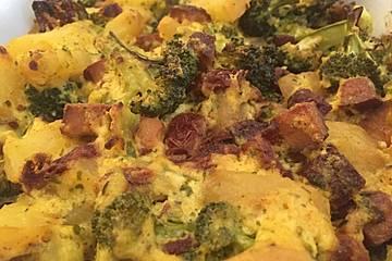 Brokkoli auflauf vegan
