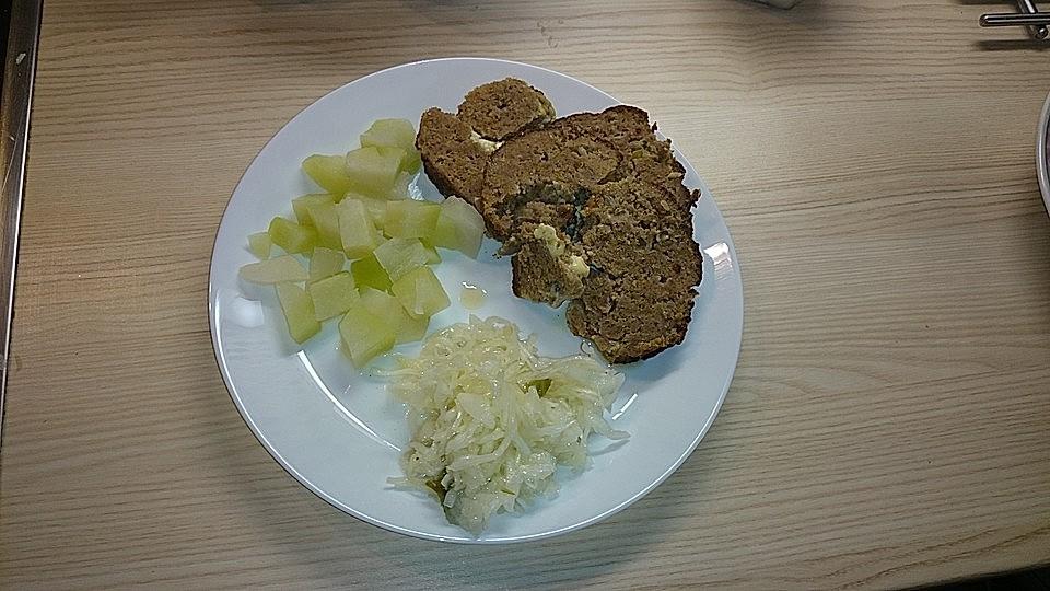 Hackbraten Mit Schafskase Von Deddy214 Chefkoch
