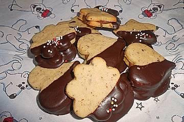 Weihnachtsplätzchen Nougat.Nougat Herzen Und Nougat Sterne