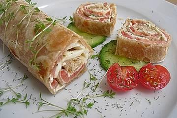 Wraps Tomate-Mozzarella