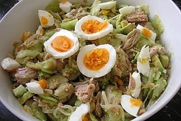 Avocado-Thunfisch Salat