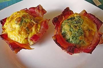 Speck und Ei-Muffins