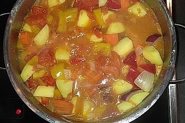 Italienisches gemischtes Gemüse