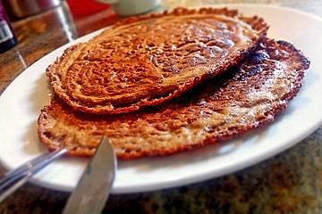 Vegane low carb Pancakes