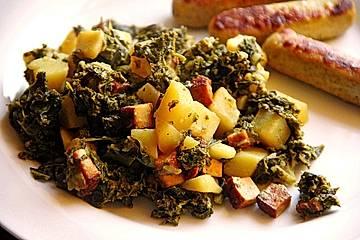 Grünkohl vegetarisch oder vegan