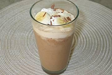 Schoko-Bananen-Kaffee