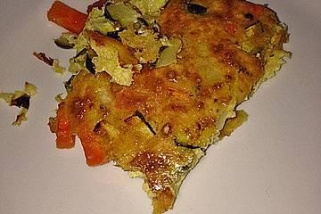 Zucchini-Karotten Tarte
