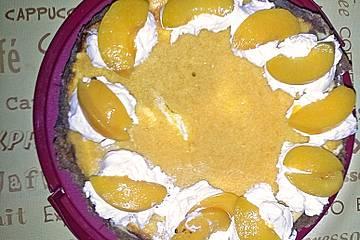 Mascarpone-Pfirsich-Kuchen